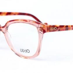 Dámské dioptrické brýle transparent red Liu Jo LJ2676 662