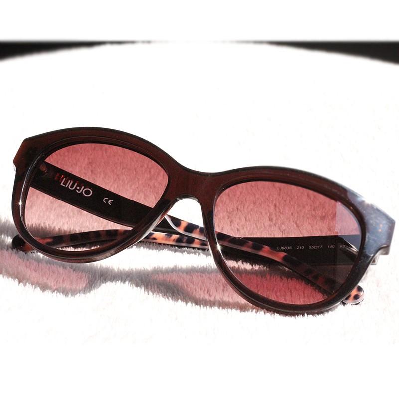 Značkové sluneční brýle LiuJo LJ683S 210 Brown