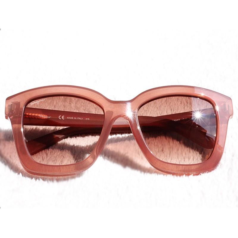 Sluneční brýle Salvatore Ferragamo SF858S 643 Antique Rose