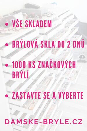 Dámské dioptrické brýle showroom - Praha